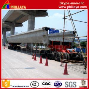 4+6 (5+5 available) Modular Trailer 250 Ton Girder Transportation/Girder Trailer pictures & photos