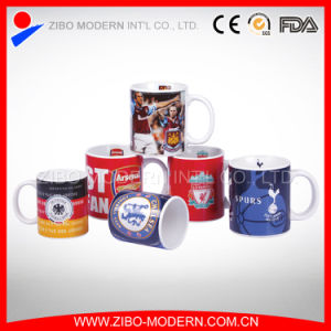 11oz Standard Coffee Ceramic Mug with Football Club Design pictures & photos