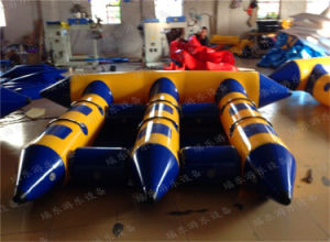 6 Person Inflatable Fly Fish, Inflatable Water Game Inflatable Flying Fish Towable for Adult Flying Fish Ride pictures & photos