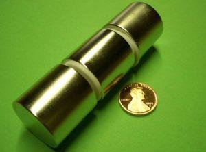 Sintered Neodymium Cylinder Magnet (UNI-CYLINDER-o1o) pictures & photos