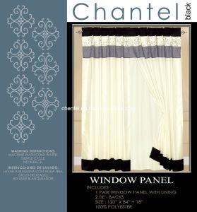 Polyester Window Panel Curtain Cloth