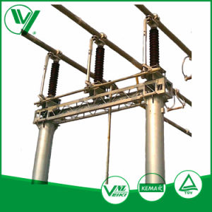 Jw-126 Outdoor Mounted Three - Poles High Voltage Isolating Switch pictures & photos