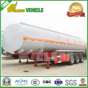 Tri-Axle 40000-50000L Fuel Tank Trailer pictures & photos
