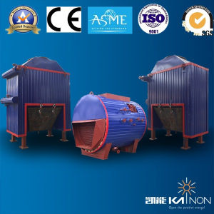 Horizontal Fin-Tube Exhaust Gas Boiler for 500/600kw Generator (KNFT700/1000)