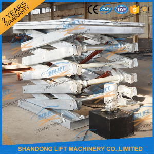 China Hot DIP Galvanized Hydraulic Electric Scissor Lift with Ce pictures & photos