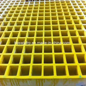 Skid Resistent Corrosion Resistant and Fire Resistant FRP Grating pictures & photos