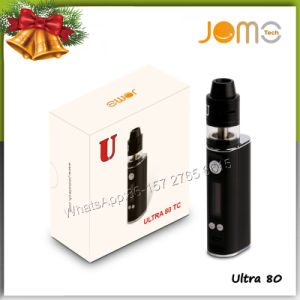 2017 Trending Products 80W Jomo Ultra 80 Tc VV Portable Vaporizer with Rebuildable Rdta Vape Mod pictures & photos