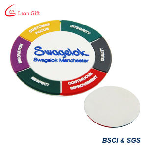 Wholesale Promotion Gift PVC Cup Mat Customized (LM1778) pictures & photos