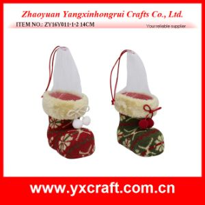 Christmas Decoration (ZY16Y011-1-2 14CM) Christmas Flower Rack pictures & photos