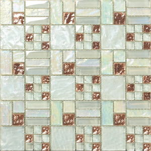 Building Material Wall and Floor Glass Mosaic Ma-GS1019 pictures & photos