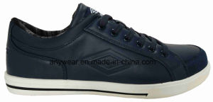 Men Leather Footwear Leisure Comfort Casual Shoes (816-9385) pictures & photos