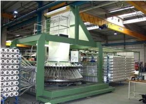 High Speed Six Shuttle Circular Loom for FIBC Sj-Fyg Series pictures & photos