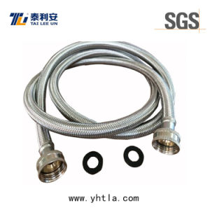 304 Braided Washing Machine Hose (L1017-W) pictures & photos