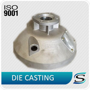 Custom Aluminum Casting Harvester Clutch Cover pictures & photos