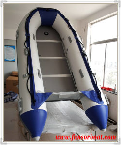 Inflatable Boat with Plywood Floor (FWS-D320) pictures & photos