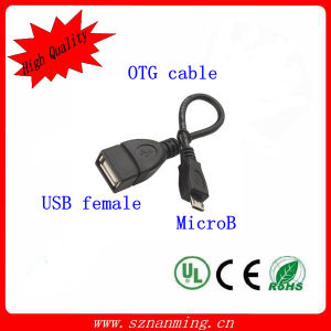 USB to Micro USB OTG Cable for Samsung pictures & photos