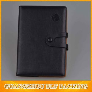 Custom PU Leather Bound Notebook pictures & photos