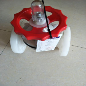 PVDF Flanged Diaphragm Valve pictures & photos
