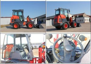 Yineng Yn910g Mini Wheel Loader Changchai Euro3 0.5cbm pictures & photos