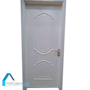 HDF White Molded Wood Interior Door/Molded Door pictures & photos