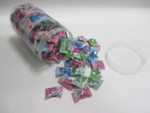 3G Pillow Film Packing Center Filled Chewing Gum pictures & photos