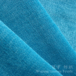 Decorative Corduroy Polyester and Nylon Fabric for Sofa pictures & photos