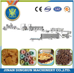 puffed snacks food making extruder pictures & photos