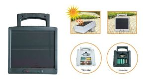 Solar Battery Charger (AA, AAA, C, D, 9V)