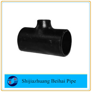 ASME B16.9 Carbon Steel A234 Wpb Pipe Fitting Sch40 Reducing Tee pictures & photos