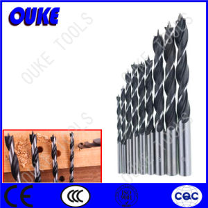 White & Black Brad Point Drill Bits for Wood pictures & photos
