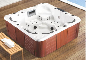 Acrylic Outdoor SPA Bathtub (JL986) pictures & photos