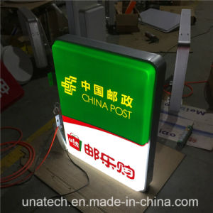 Acrylic Vacuum Foaming LED Outdoor Round/Sqaure Light Box pictures & photos