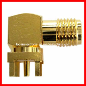 SMA Female PCB Mount RF Coaxial Connector SMA Connector pictures & photos