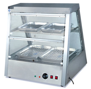 Heat Preservation Display Showcase for Kitchen (DH-2*2) pictures & photos