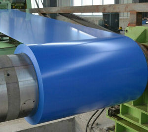 Cold Rolled Color Coated Galvalume Steel Coil Roofing Sheet PPGL Steel Coil pictures & photos