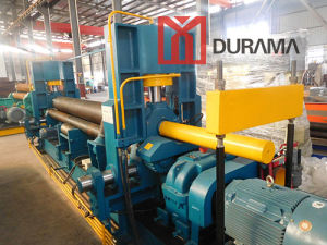 Plate Bending Machine / Metal Rolling Machine / Mechanical Rolling Machine / Symmetrical Plate Bender / Upper Roll Series Three Roll Bending Machine pictures & photos