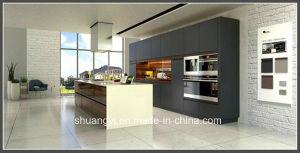 Modern Australia Standard Melamine Board Wooden Kitchen Cabinet pictures & photos