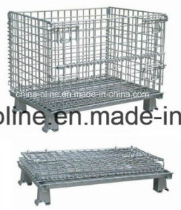 Steel Wire Mesh Storage Container pictures & photos