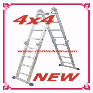Heavy Version Multi-Function Ladder 4x4 (DLM204) pictures & photos