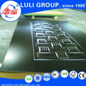 Veneer Melamine HDF Door Skin From Luli Group pictures & photos