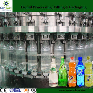 Automatic Soft Drink Filling Machine of Carbonated Water Filling Machinery pictures & photos