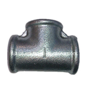 Beaded Galvanized Tee Malleable Iron Pipe Fittings pictures & photos