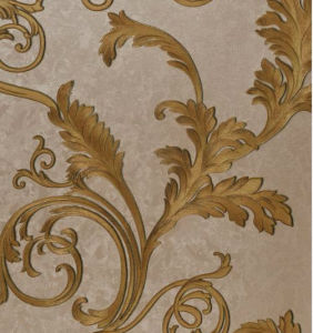 High Quality Heavy Embossed 3D Wallpaper (550G/SQM) L1001 pictures & photos