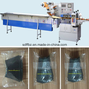 Horizontal Motorcycle Inner Tube Automatic Flow Wrapping Machine pictures & photos