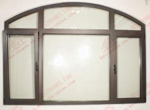 High Quality Arched Aluminum Tilt and Turn Window (BHA-TT02) pictures & photos