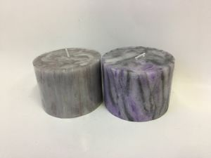 Unique Designed Marble Pillar Candle for Home Decoration pictures & photos