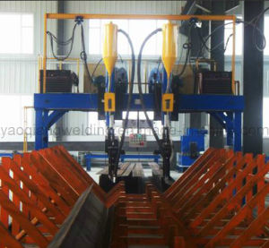 Yaoqiang Lha-4000 H Profile Boat Type Welding Machine pictures & photos