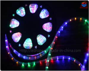 120V RGB Round 2 Wires LED Rope Decorative Light