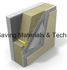 Thin Rendering External Wall Thermal Insulation Rockwool Board pictures & photos