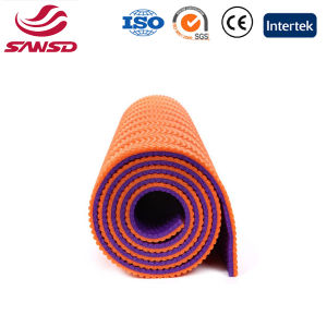 High Quality Comfort Double Color TPE Yoga Mat pictures & photos